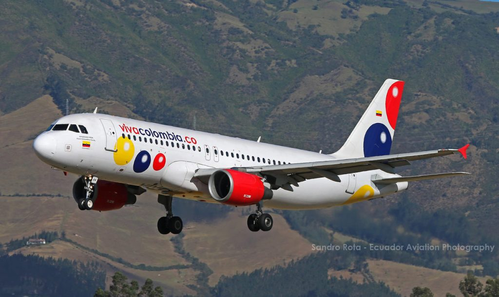 avion vivacolombia viva air