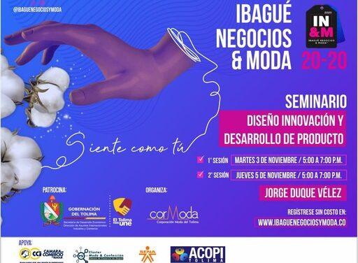 Ibagué, Negocios & Moda 2020, contará con el apoyo y patrocinio de la Gobernación del Tolima